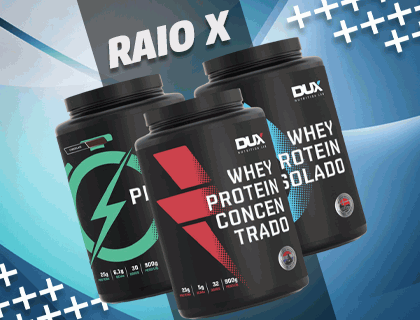 Raio X: Whey Protein da Dux Nutrition