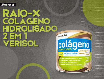 Raio-X Colágeno Hidrolisado Verisol 2 em 1 da Maxinutri