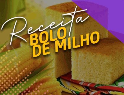 BOLO DE MILHO FIT