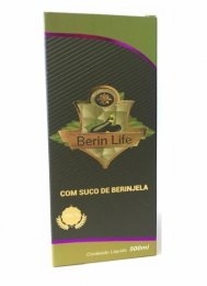 Suco de Berinjela (500ml) - 100% Natural