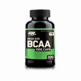 BCAA Mega-Size 1000 (200 Caps)