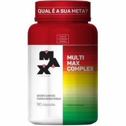 Multivitaminico Multimax 90 Caps Max Titanium