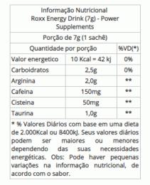 Roxx Energy Drink (7g)